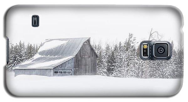Snowy Barn Galaxy S5 Case by Dan Traun