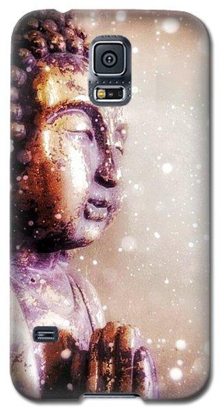 Snowy Buddha Galaxy S5 Case