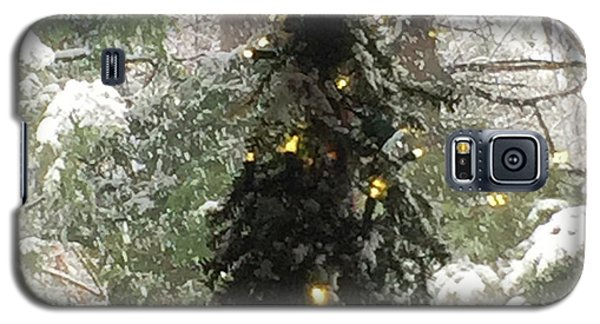 Snowy Christmas Galaxy S5 Case