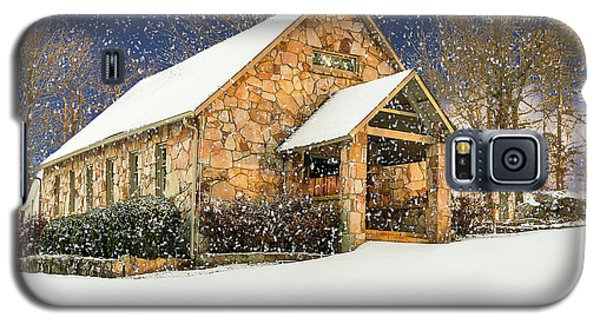 Snowy Cloudland Presbyterian Church  Galaxy S5 Case