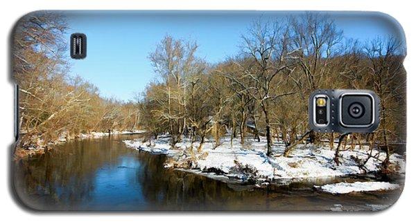 Snowy Creek Morning Galaxy S5 Case