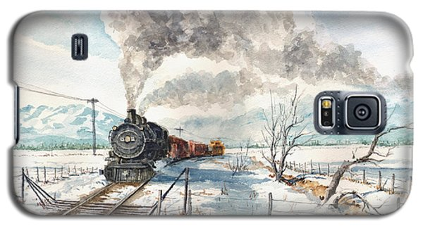 Snowy Crossing Galaxy S5 Case