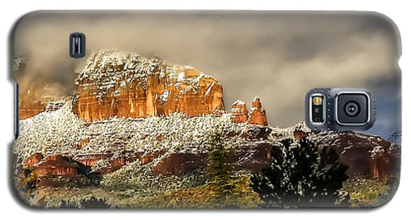 Snowy Day In Sedona Galaxy S5 Case