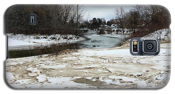 Snowy Elk Rapids River Galaxy S5 Case