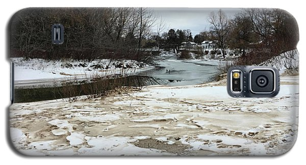 Snowy Elk Rapids River Galaxy S5 Case
