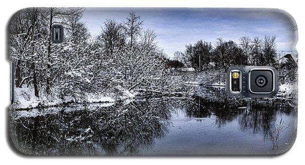 Snowy Ellicott Creek Galaxy S5 Case
