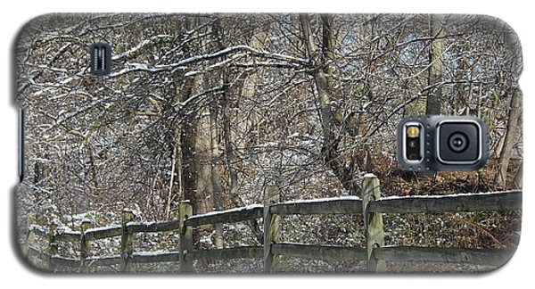 Winter Fence Galaxy S5 Case