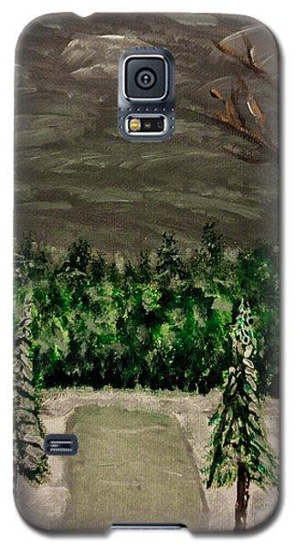 Snowy Field Galaxy S5 Case