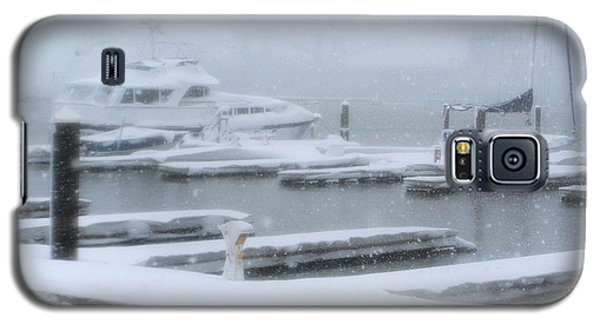 Snowy Harbor Galaxy S5 Case