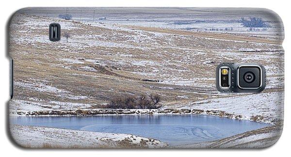 Snowy Hills 1 Galaxy S5 Case