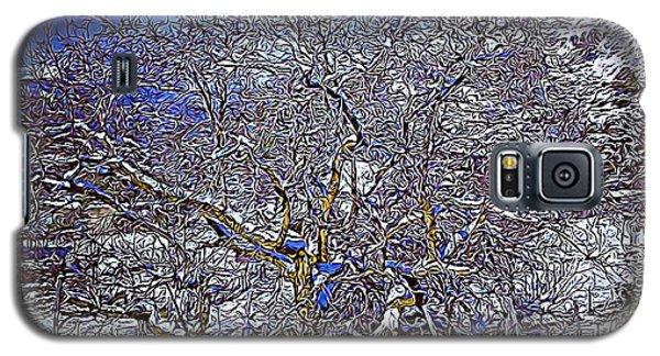 Snowy Galaxy S5 Case
