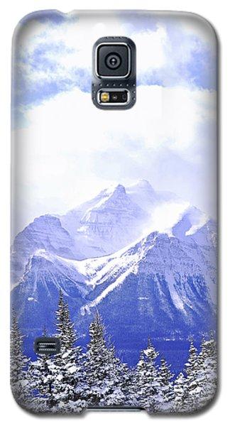 Mountain Galaxy S5 Case - Snowy Mountain by Elena Elisseeva