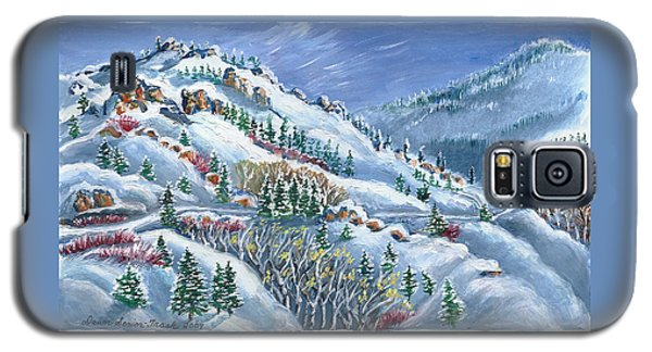 Snowy Mountain Road Galaxy S5 Case