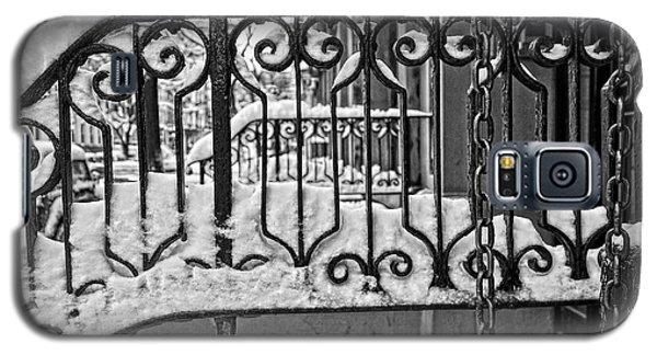 Snowy Nyc Steps Galaxy S5 Case