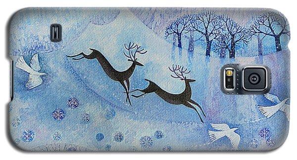 Snowy Peace Galaxy S5 Case by Lisa Graa Jensen