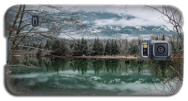 Snowy Reflection Galaxy S5 Case