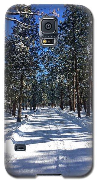 Snowy Road Galaxy S5 Case