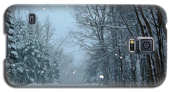 Snowy Street Galaxy S5 Case