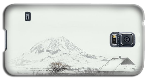 Snowy Sunrise Galaxy S5 Case