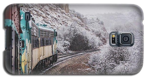 Snowy Verde Canyon Railroad Galaxy S5 Case