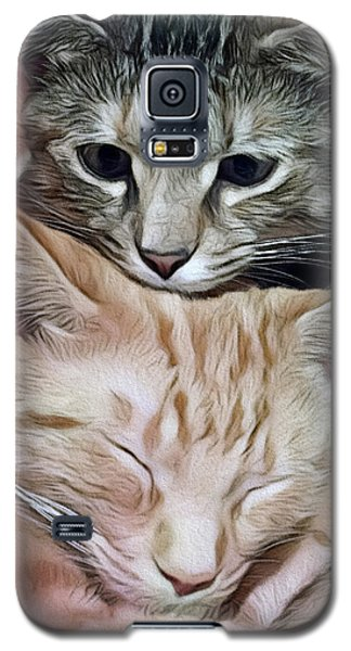 Snuggling Kittens Galaxy S5 Case