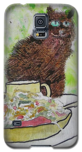Galaxy S5 Case featuring the painting So by AJ Brown