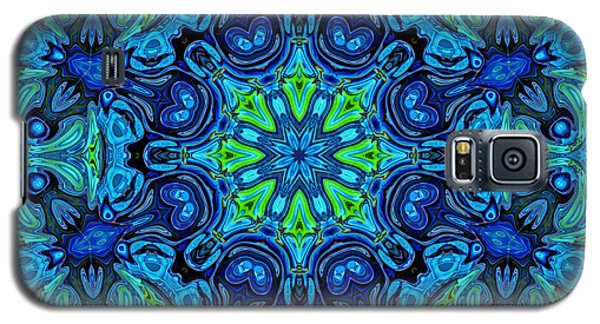 So Blue - 04v2 - Mandala Galaxy S5 Case