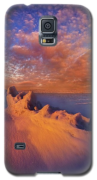 Galaxy S5 Case featuring the photograph So It Begins by Phil Koch