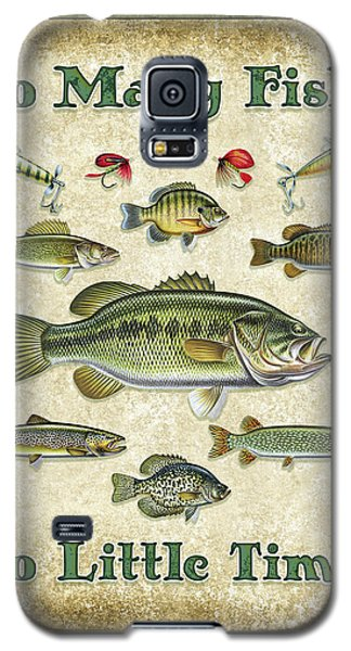 So Many Fish Sign Galaxy S5 Case