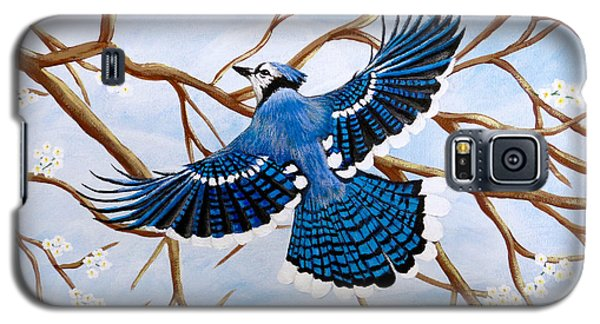 Soaring Blue Jay  Galaxy S5 Case