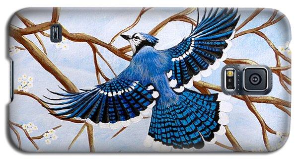 Soaring Blue Jay  Galaxy S5 Case
