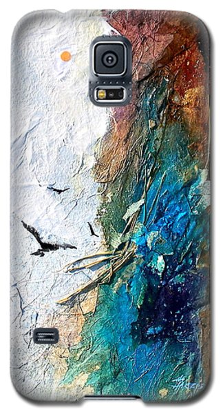 Galaxy S5 Case featuring the painting Soaring by Helen Harris
