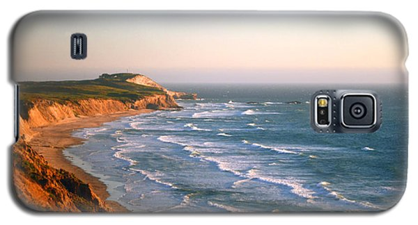 Galaxy S5 Case featuring the photograph Socal Sunset Ocean Front by Clayton Bruster
