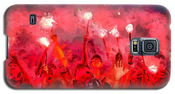 Soccer Fans Pictures Galaxy S5 Case