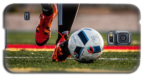 Soccer Galaxy S5 Case by Hyuntae Kim