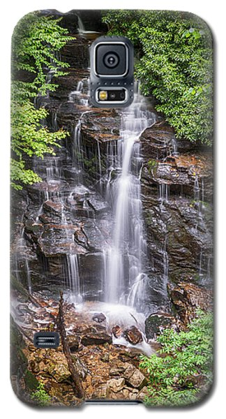 Galaxy S5 Case featuring the photograph Socco Falls by Stephen Stookey