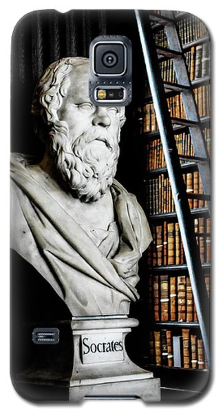 Socrates A Writer Of Knowledge Galaxy S5 Case