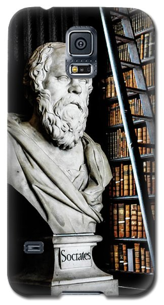 Socrates A Writer Of Knowledge Galaxy S5 Case by Lexa Harpell