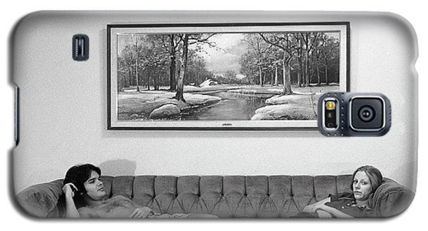 Sofa-sized Picture, With Light Switch, 1973 Galaxy S5 Case