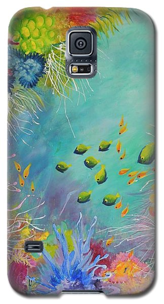 Soft And Hard Reef Corals Galaxy S5 Case by Lyn Olsen