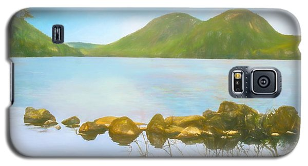 Soft Art Photograph Jordan Pond Acadia Nat. Park Maine Galaxy S5 Case
