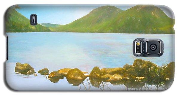 Soft Art Photograph Jordan Pond Acadia Nat. Park Maine Galaxy S5 Case