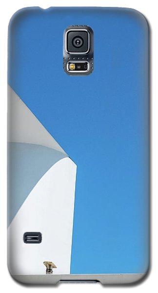 Soft Blue Galaxy S5 Case