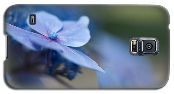 Galaxy S5 Case featuring the photograph Soft Blue Moment by Lisa Knechtel
