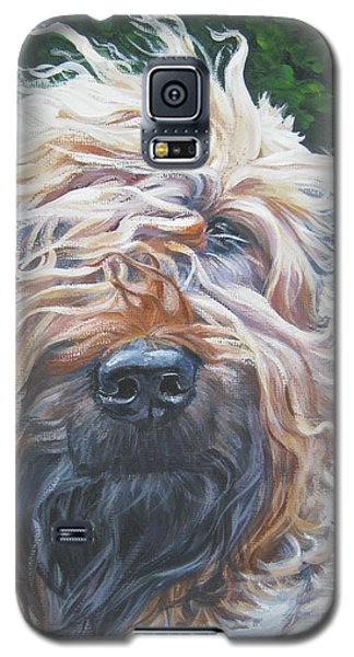 Soft Coated Wheaten Terrier Galaxy S5 Case