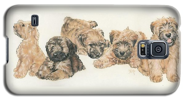 Soft-coated Wheaten Terrier Puppies Galaxy S5 Case
