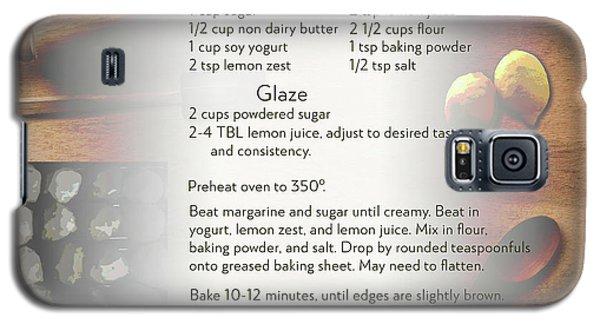 Soft Lemon Cookie Recipe Galaxy S5 Case