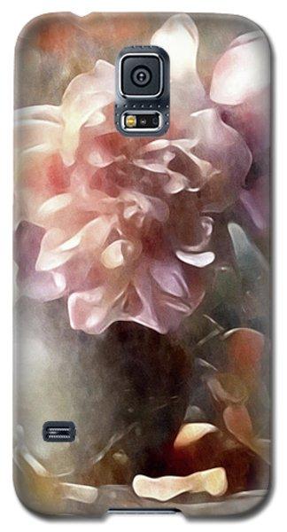 Soft Pastel Peonies Galaxy S5 Case