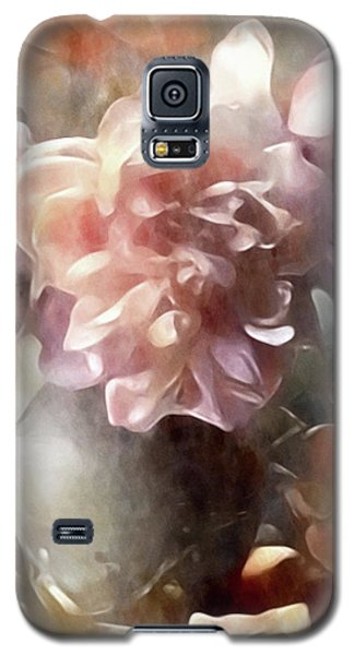 Soft Pastel Peonies Galaxy S5 Case
