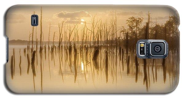 Soft Peach Sunrise At Manasquan Galaxy S5 Case
